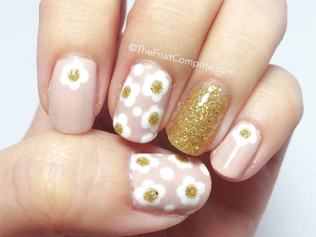 Toe Nail Designs Daisy ~ Daisy nail designs