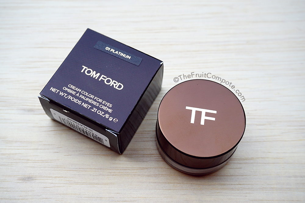 the molten tom ford cream color for eyes in platinum the. Black Bedroom Furniture Sets. Home Design Ideas